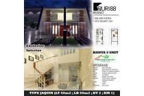 Jual rumah baru Perum Puri 88 Gunung anyar hks4485