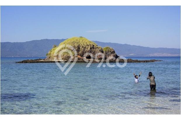 tanah dijual pulau eksotis di tengah pulau sumbawa ntb