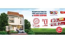 Dijual Rumah Carrillo Boston Village, Gading Serpong Tangerang