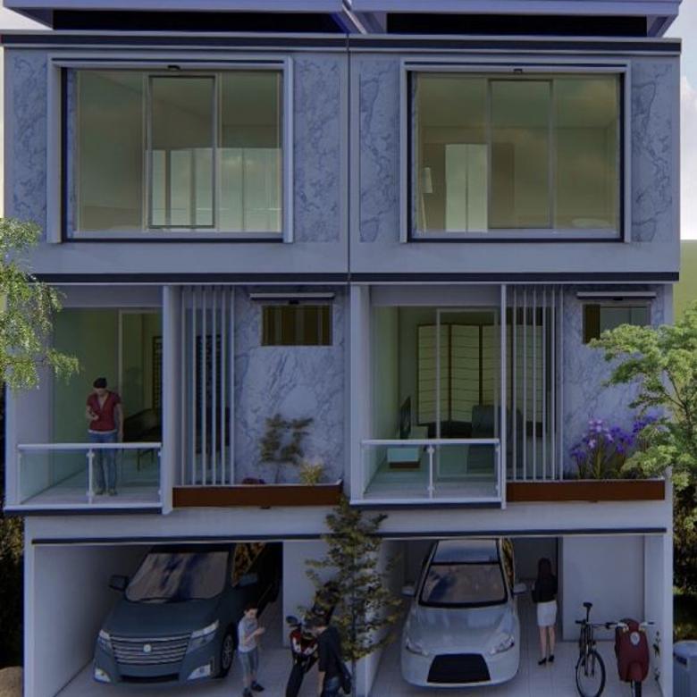 Dijual rumah baru termurah mewah strategis di Jakarta Pusat