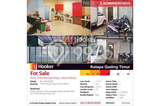 Ruko Jl Kembangan Raya, Jakarta Barat 15423204