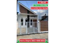 Rumah Siap Huni, K Tdr 3, Hal Blkg luas, Cisaranten, Bandung.