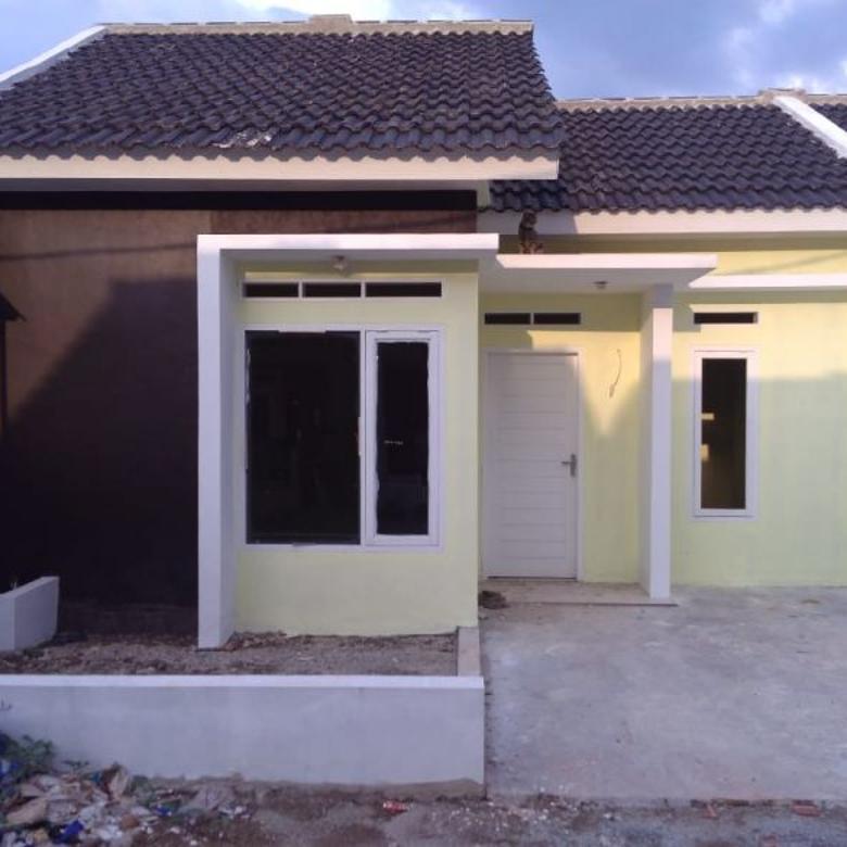 Rumah 1 lantai siap huni DP 0% all in di Rancamanyar