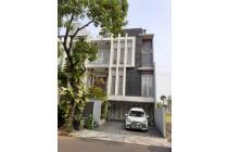 Rumah 4 laantai full furnished di pondok indah Jakarta selatan