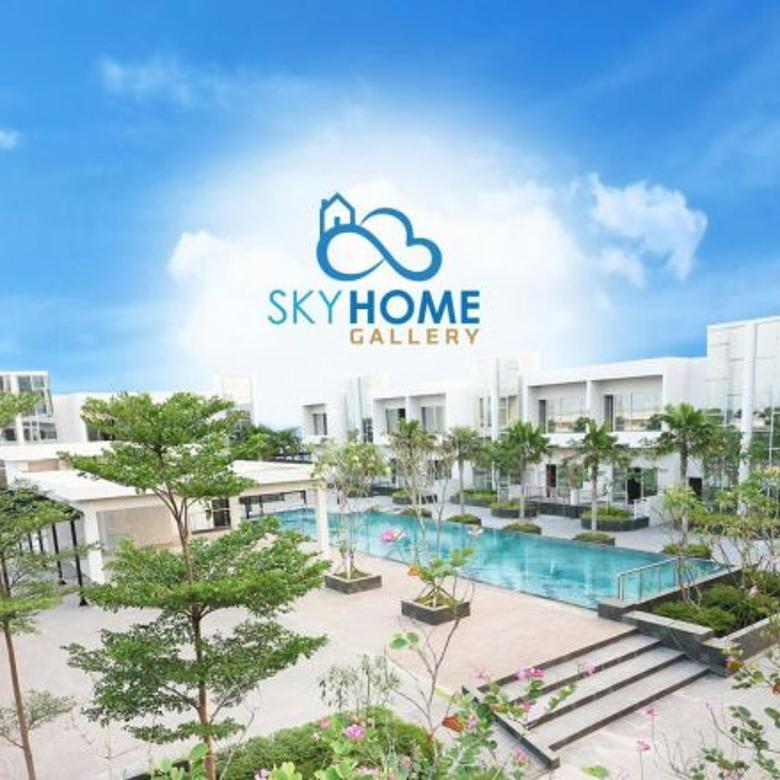 SKYHOME GALLERY - rumah serasa apartment, mewah berkelas fasilitas lengkap