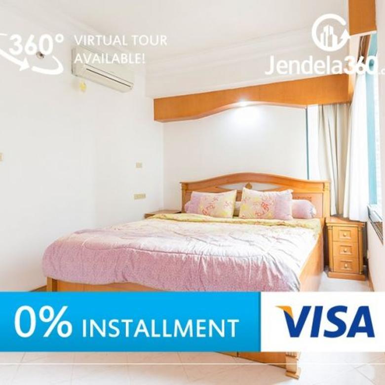 Taman Anggrek Apartment 2+1BR City View (bisa dicicil 12x)