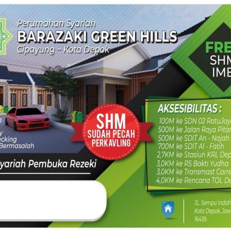 Rumah Syariah Barazaki Green Hills Cipayung Depok