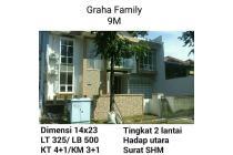 Rumah Graha Famili Siap Huni Minimalis Nego Surabaya Barat