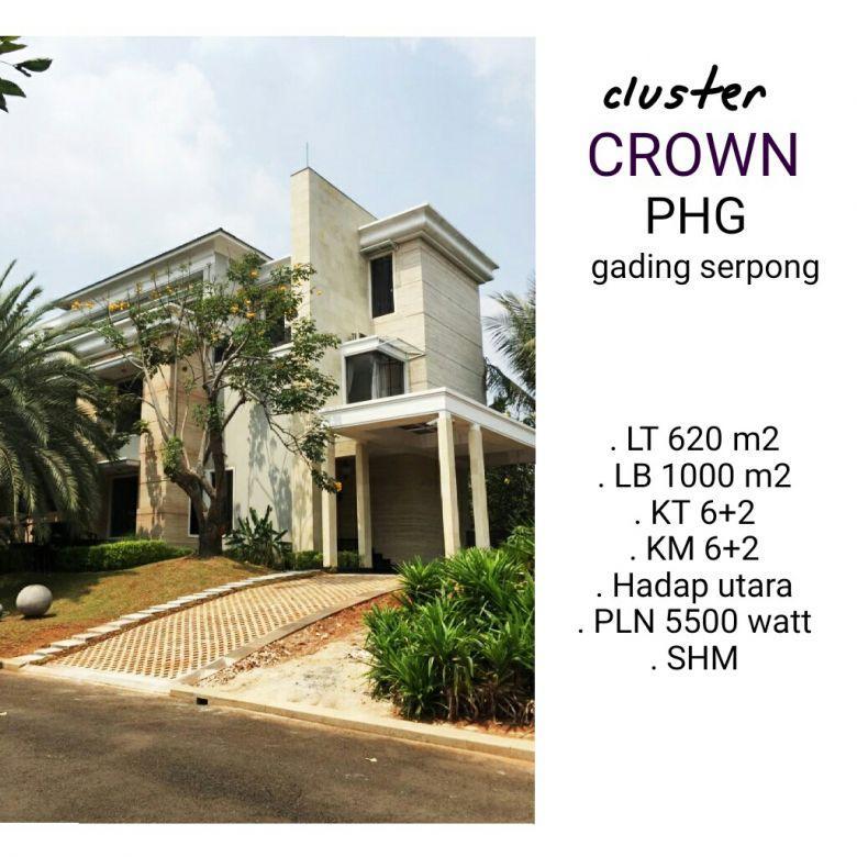 cluster crown gading serpong, mewah