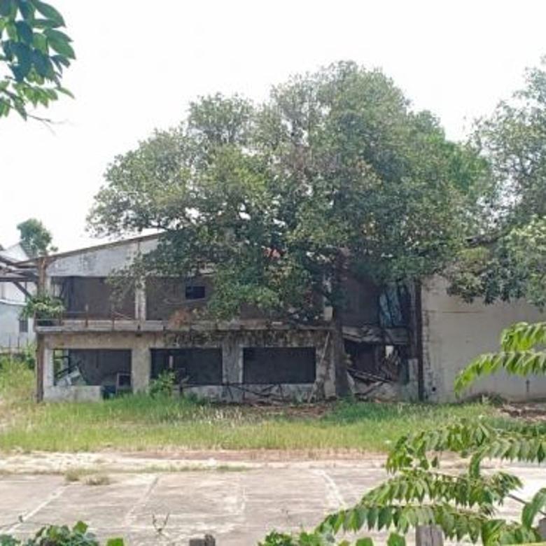 Tanah Dijual peruntukan Gudang/Pabrik di Daan Mogot, Jak Bar