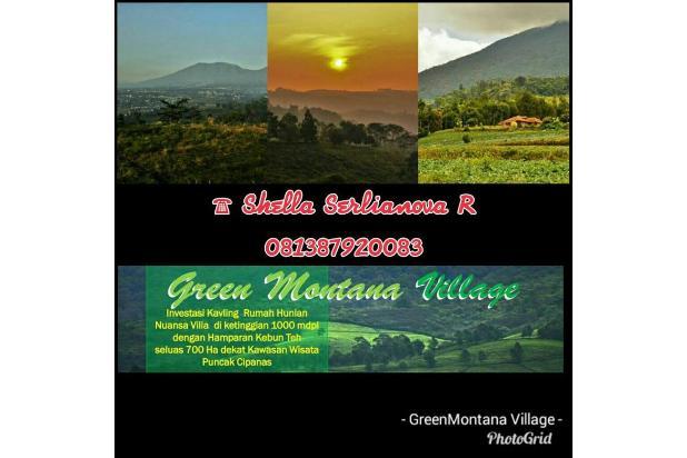 Investasi Kavling Villa Puncak Cipanas, Green Montana Village 16224536