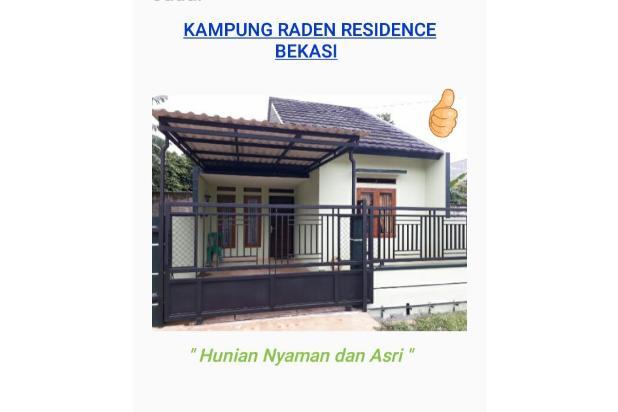 Hunian Nyaman dan Asri Kampung Raden Residence di Bekasi 16225403