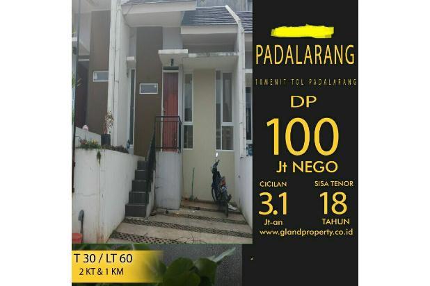 Rumah takeover siaphuni DP100jtNego,lgsng notaris SHM 10 mnt Tol padalarang 18273851