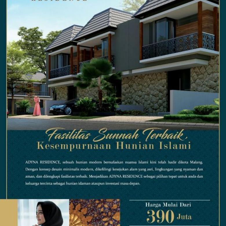 Hunian modern super keren 2 lantai paling murah dikota Malang