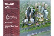 Dijual Apartemen Baru Type Studio Nyaman di Southeast Capital Jakarta Timur