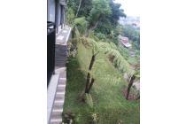 rumah ciumbuleuit bandung, dengan view sungai cikapundung