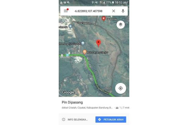 Lahan Strategis di Bandung 18784683