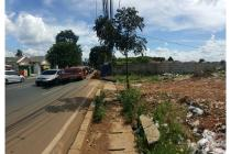 Tanah disewakan di Bekasi, strategis, siap pakai, depan stasiun kereta api