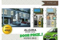 Rumah 2 Lantai dengan Gaya Jepang di Keradenan Bogor