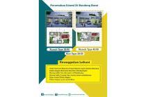 Dijual Rumah di Hasanah City Padalarang Bandung harga mulai 180 jutaan