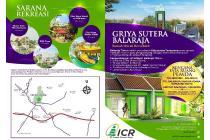 Rumah Subsidi Griya Sutera Balaraja Dekat Jalan Raya