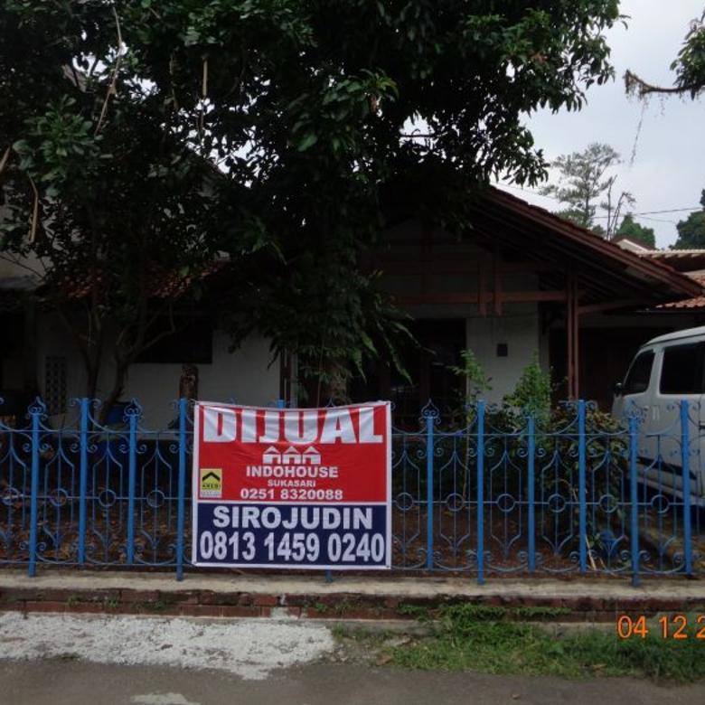 Rumah dgn tanah luas dan kt +10 di Pasir Kuda, Ciomas