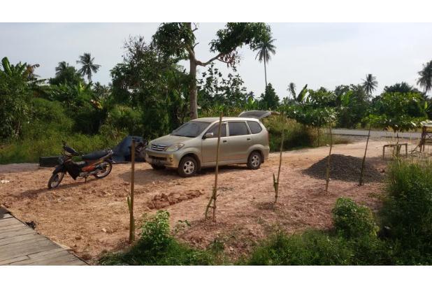 Dijual kios dengan halaman pinggir jalan lingkar utara Banjarmasin. 3874510