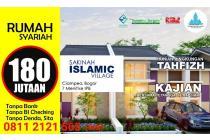 Rumah Syariah Bogor Harga setara subsidi 180 jutaan
