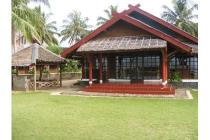 villa cottages pantai carita