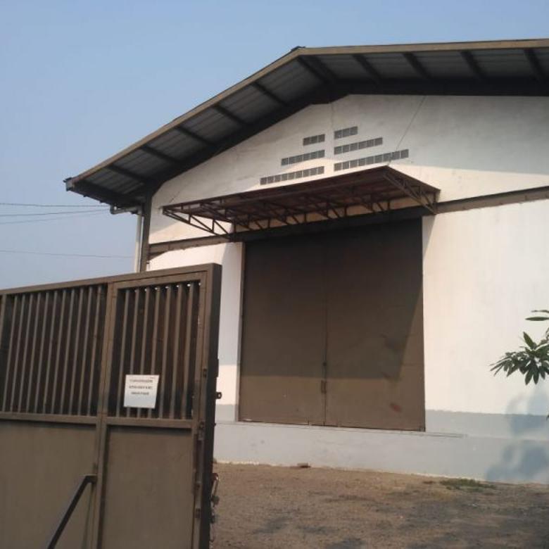 Dijual Gudang-loading dock Rapi Siap Pakai di Narogong Bekasi