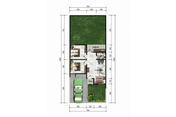 Rumah di jual padalarang murah baru DP ringan strategis 12181390