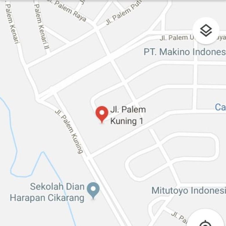 Rumah Palem Kuning Lippo Cikarang Bekasi Jawa Barat