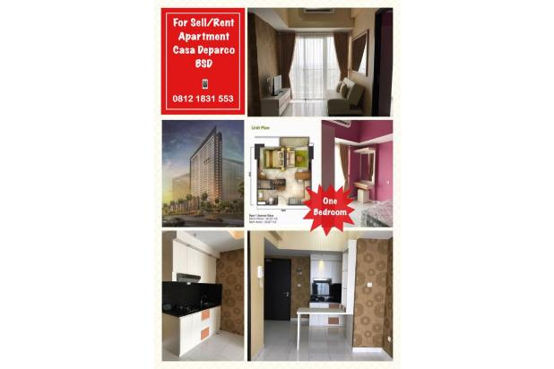 Apartemen Casa de Parco di BSD, 1 Bedroom, Fully Furnished, 5 Menit AEON MA 19779442
