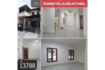 Rumah Villa Melati Mas, Serpong, Tangerang, 8x15m, 2 Lt, SHM