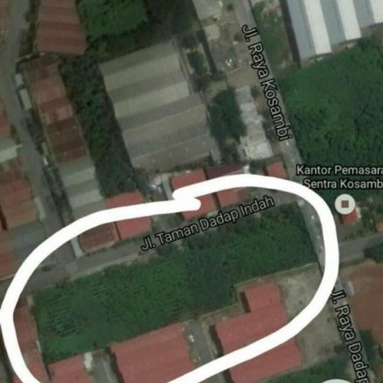 Lahan di Kosambi Dadap Raya Tangerang