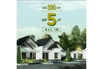Rumah Minimalis, DP 5 Juta All in di Bandung Timur