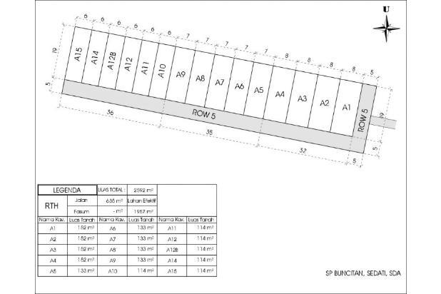 Rp99jt Tanah Dijual