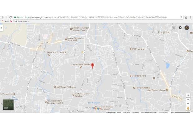 Jual Tanah Depok, Pilih Kaveling Sawangan: Siap Langsung Bangun Rumah 14418057