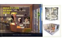 Dijual Apartemen Crown Residence Tipe 2BR Lokasi Strategis, Sidoarjo