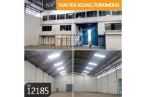 Gudang Sunter Agung Podomoro, Jakarta Utara, 30x70m, 2 Lt, HGB.