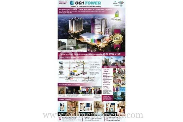 Jual Apartemen Tower B, Kawasan Grand Sentraland Karawang MD627 14359573