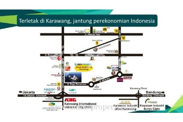 Jual Apartemen Tower B, Kawasan Grand Sentraland Karawang MD627 14359578