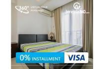Marbella Kemang Residence 1BR full furnished (bisa dicicil 12x)