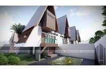 Villa mewah 2 lantai bonus kolam renang dibawah 1 M