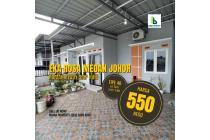 Rumah Murah Minimalis Cantik 1 Lantai Eka Rosa Medan Johor