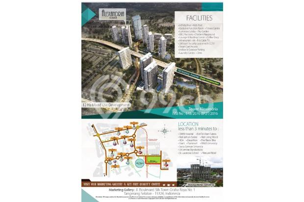 Apartment jakarta selatan, bintaro strategis dan jalan besar 18619776