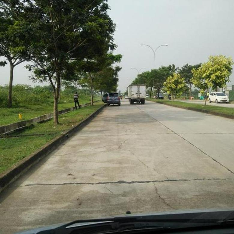Kavling Komersial Siap Bangun di Jalan (Utama) Mataram Lippo Cikarang