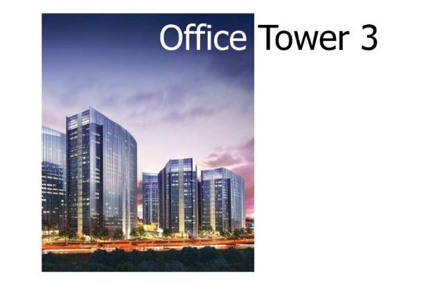 ciputra international office konsep mix used premium property