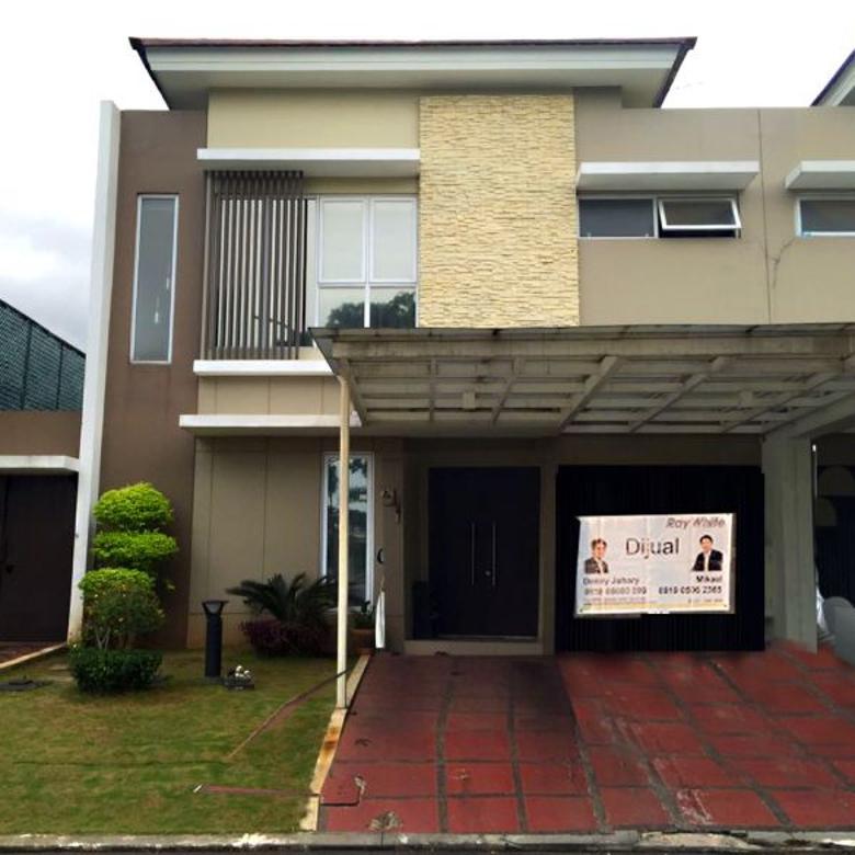 Rumah Dijual Murah Cluster Dbanyan Semi Furnish Di Jakarta Garden City