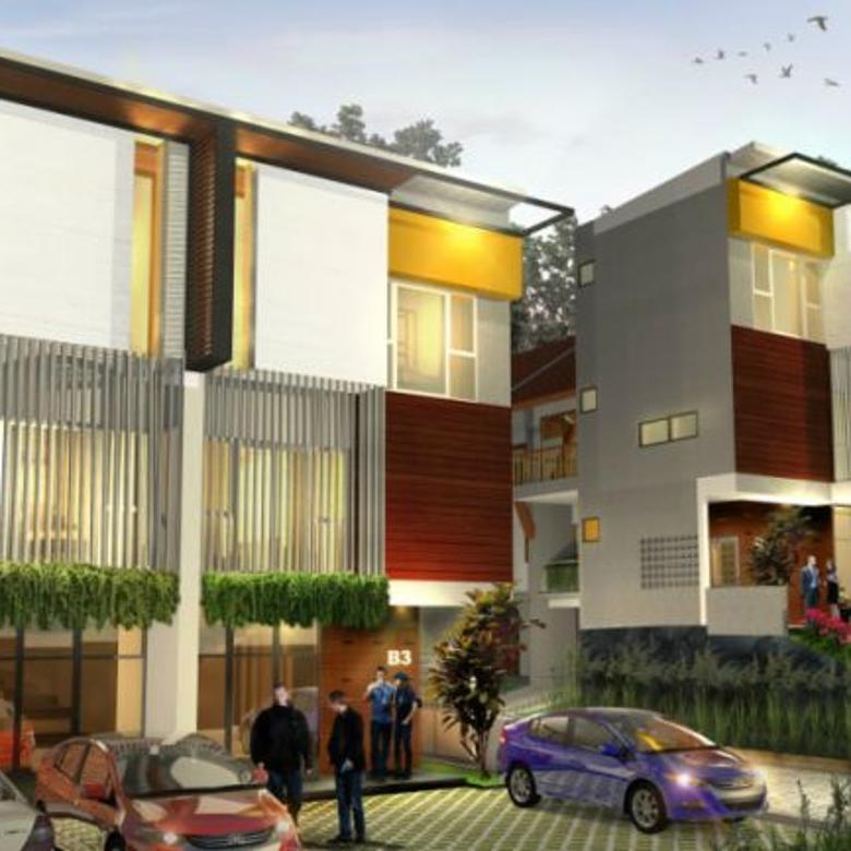 SOHO Setiabudi Clove Bandung - Rumah Konsep Kantor 3 Lantai